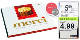 merci chocolate boxes only 2 50 at walgreens the krazy coupon