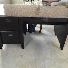 Granite Computer Desk Find More Office Desk New Condition Faux Granite For Sale At Up