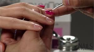 axxium soak off gel application natural nails part 4 of 12