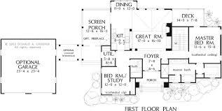 Don Gardner Floor Plans Home Plan The Riva Ridge By Donald A Gardner Architects