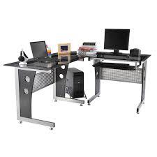 Schreibtisch F Die Ecke Homcom Computertisch Eckschreibtisch Schreibtisch Bürotisch Pc