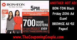 bon ton black friday 2016 ad browse all 92 pages