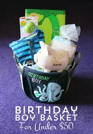 build your own gift basket birthday boy gift basket for 50