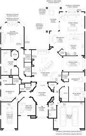 luxury home floorplans toll brothers mercado floor plan home floorplans