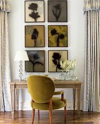 olive green velvet chair transitional living room