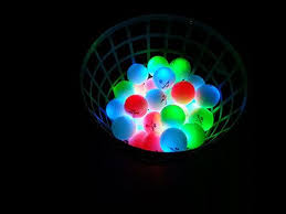 light up golf balls a basket of led golf balls http glowproducts com products nsgv