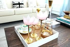 Decorative Coffee Tables Fancy Ottoman Trays Coffee Tables Decorative Serving Tray Sets Set