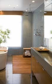 japanese bathrooms design shower soaking tub wood vanity cabinet modern bathroom interior