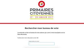 comment savoir dans quel bureau de vote on est inscrit comment trouver votre bureau de vote pour la primaire de la gauche