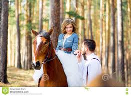 wedding in country style in the woods stock photo image 71126532