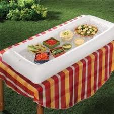 table top cooler for food inflatable table top cooler 46 party planning pinterest