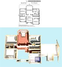 2nd floor house plan arlington modular colonial home plan