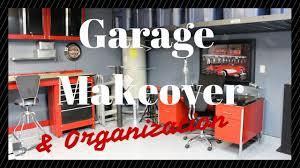 garage makeover u0026 organization youtube