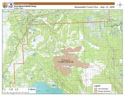 Alaska Wildfires Map by Shanta Creek Wildfire Wikipedia