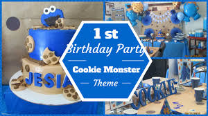 cookie monster baby shower cookie monster theme 1st birthday party dollar tree u0026 pinterest