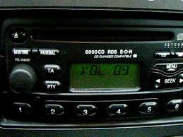 ford mondeo 6000cd rds eon cd changer youtube