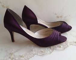 wedding shoes purple purple wedding shoes etsy