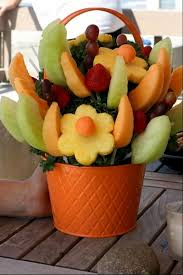 fruit arrangements delivered 34 best fruit flowers pot images on fruit arrangements