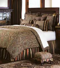 Eastern Accents Bedsets Chocolate Bedding Set Ease With Style Hampton Hill Canovia Springs