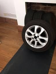 nissan micra alloy wheels set of nissan micra oe 15