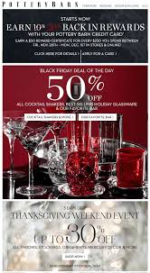 2014 thanksgiving day sales pottery barn black friday sale u0026 deals for 2017 blacker friday