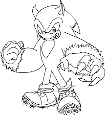 coloring pages sonic colouring pages sonic the werehog coloring pages fresh on creative