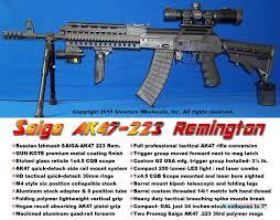 ak 47 laser light combo saiga russian izhmash ak47 223 remington full p for sale