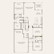 second story floor plans carissa at alamo ranch in san antonio texas pulte