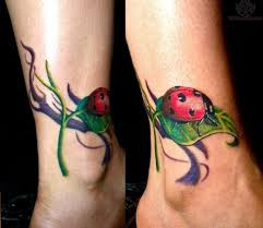 small butterfly tattoos on ankle pics of ladybugs on a vine special tattoo ideas ladybug tattoo