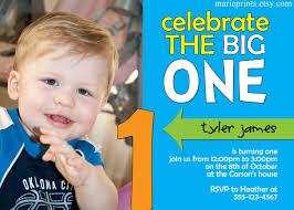 first birthday party invitations boy free printable invitation