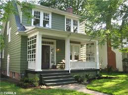 Craftsman Style House Colors Best 25 Green House Exteriors Ideas On Pinterest Green Exterior