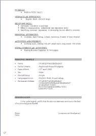 Mba Marketing Fresher Resume Sample by 20 Resume For Marketing Executive Fresher Resume Templates