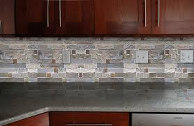 cheap back splash tiles for kitchen fire and ice brick tile