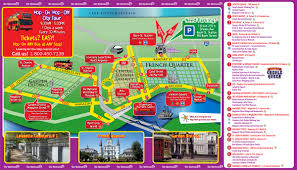 French Quarter Map New Orleans by Hop On Hop Off New Orleans Bus Tour Coupons 2017 Tripshock