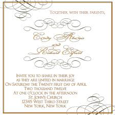 wedding invitation etiquette address template best template