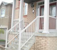 pipe handrail cost per foot deck railing calculator steel linear