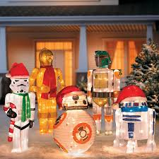 Exterior Christmas Decorations Star Wars Outdoor Christmas Decorations Improvements Catalog