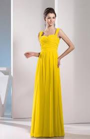 cheap bridesmaid dresses yellow color uwdress com