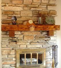 rustic fireplace mantel log mantels wood reclaimed wisconsin mueller fire