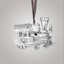 newbridge silverware steam train christmas decoration
