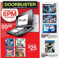 wii bundle target black friday target u0027s black friday ad includes the new 3ds and other nintendo