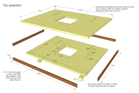Table Size Router Table Plans Printer Optimized