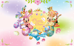 easter mickey mouse mickey mouse and friends happy easter walldevil