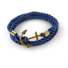 anchor braided bracelet images Bracelet tom hope navy diy wind anchor ancient gold plated wound jpg