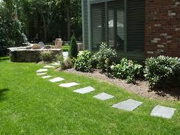 landscape stepping stones ideas walkways diy landscape stepping