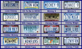 New Hampshire Vanity Plate Disney Vanity Plates All Ears Guest Blog