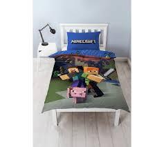 Argos Bed Sets Buy Minecraft Guys Bedding Set Single At Argos Co Uk Your