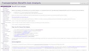 Project Cost Analysis Template by Cost Benefit Analysis Better Evaluation