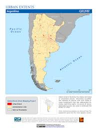 Urban Map Maps Global Rural Urban Mapping Project Grump V1 Sedac