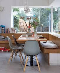 banc de cuisine en bois avec dossier banc de cuisine contemporain en 30 idées pour le coin repas table